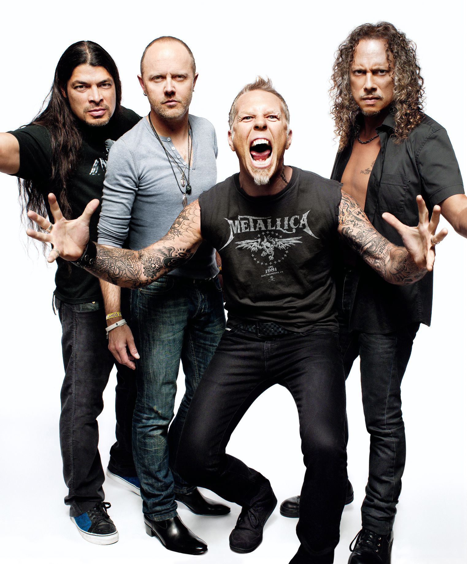 Metallica de volta aos álbuns em Novembro
