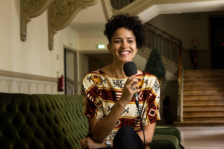 """Aline Frazão: """"Luanda está sempre comigo""""."""