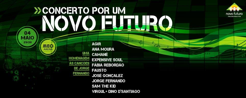 Concerto Por Um Novo Futuro recria Jorge Fernando
