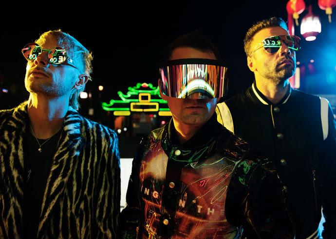 Muse apresentam novo álbum em Algés