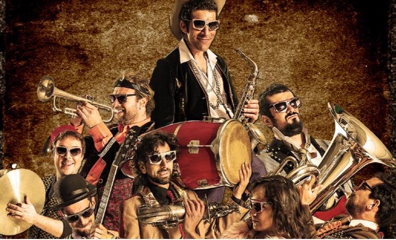 Kumpania Algazarra apresentam novo álbum