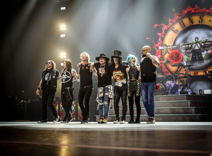 Guns N'Roses de volta a Portugal