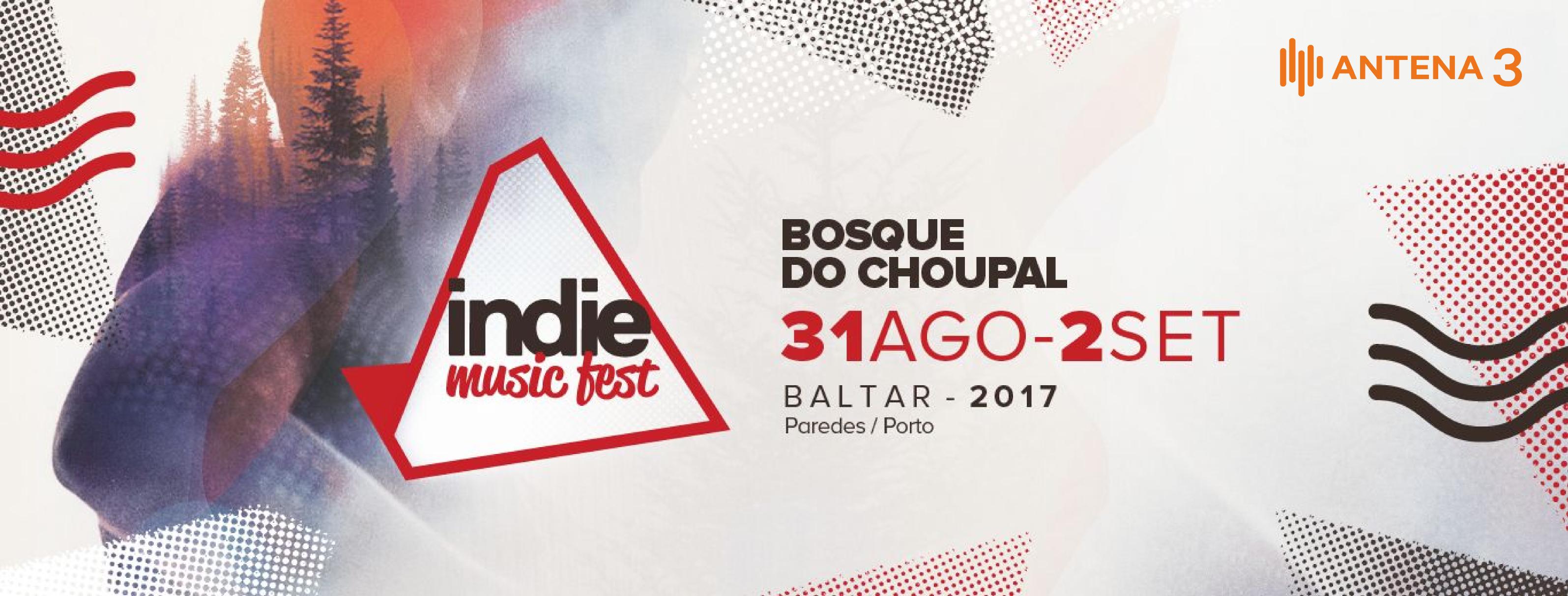 Passatempo Indie Music Fest: o M de Música está a oferecer três passes gerais